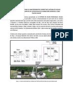 Informe Técnico Para El Mantenimiento Correctivo Aguas Residuales Distrital 11d03