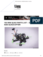 180 Mini Quad Parts List - Sub 200 Size Quadcopter - Oscar Liang