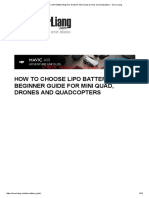 How to choose LiPo Battery Beginner Guide for Mini Quad, Drones and Quadcopters - Oscar Liang.pdf