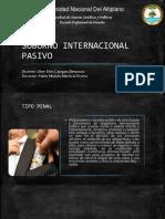 Soborno Internacional Pasivo Art 393 A Delitos contra la Administración Pública