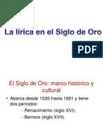 UD6-La Lírica en El Siglo de Oro