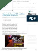 Cómo Vender Internet WiFi Con Fichas (Oportunidad de Negocio)