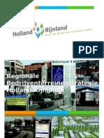 Bedrijventerreinenstrategie Holland Rijnland - Definitief