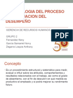 Metodologia Del Proceso de Evaluacion Del Desempeño2