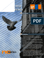 Bird Control and Deterrence - PDF