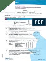 Bilan Prevention RSI