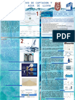 Cartel Sistema de Captacion de Agua Pluvial 2.0 en PDF