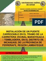 PUENTE CARROZABLE PATIVILCA SOBRE LA ACEQUIA PACORA,.pptx