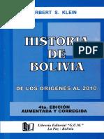 Herbert Klein - Historia de Bolivia.pdf