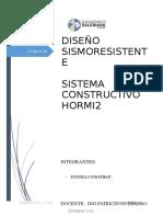 Sistema Constructivo Hormi2