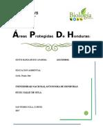 Areas Proegidas Hn