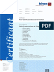 KVO Certificaat