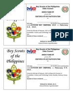 BSP Sample Certificate (Cebu Council)