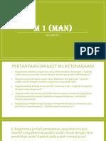 M 1 (MAN)