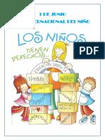 1 de Junio Dia Del Niño