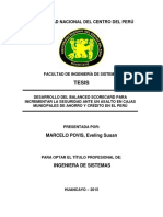 Desarrollo Del Balanced Scorecard