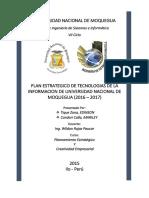 PETI UNAM 2016 - 2017