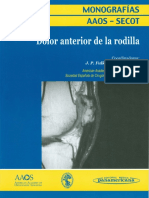 Dolor anterior de la rodilla