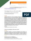 Ferreira & Oliveira - The pedagogic discourse of the teacher‐author