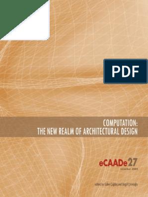 ecaade2009 | Design | System