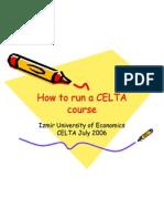 How to Run a CELTA Course