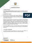 Factibilidad Del Proyecto Medicinas Cat 2018