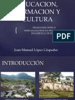 Educacion, Formacion y Cultura