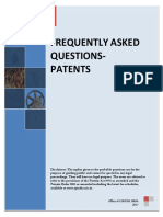 Final Frequently Asked Questions -Patent
