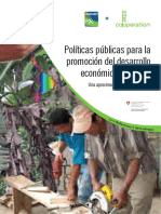 7 Políticas Públicas Para El DET