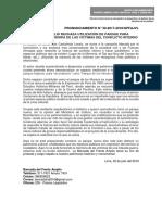 FRENTE AMPLIO RECHAZA UTILIZACIÓN DE PARQUE PARA MANIPULAR LA MEMORIA DE LAS VÍCTIMAS DEL CONFLICTO INTERNO