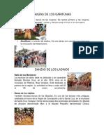 2 Danzas de Los Garifunas, Ladinos, Mayas y Xincas