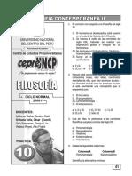 Práctica Nº 10 - Filosofía - Filosofía Contemporánea II
