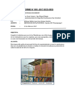 Informe de Inspección Cancha 600 Huaripampa