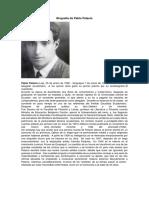 Biografía de Pablo Palacio