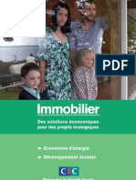 CIC Guide Immobilier Developpement Durable 2009