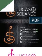 Visit Card Lucas e Solange