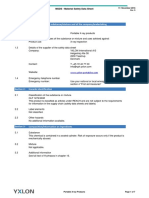 YXLON Material Safety Data Sheet for Portable Products