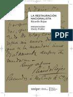 Rojas, Ricardo - La restauración nacionalista.pdf