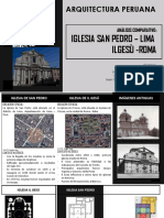 Comparacion Iglesia San Pedro- Ilgesù