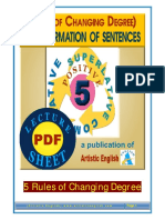5 Rules of Changing Degree Positive-Comp