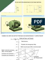 Inversion de Giro en Motores Monofasico, Trifasicos y Universales