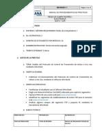 Procedimientos Practica Rdci-3