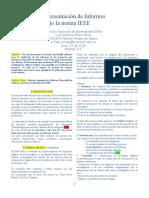 Plantilla Para Presentacion de Informe Tecnico IEEE Adaptacion 1