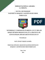 Raul Vasquez (PPM1) Tesis Composicion Floristica Final
