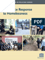 Police Response to Homelessness