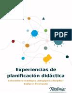 Experiencias de Planificacion Didactica