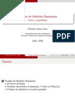 Clase Factor de Bayes
