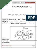 Propiedades de Los Materiales i Practica 2