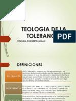Teologia de La Tolerancia
