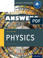 Physics - ANSWERS -